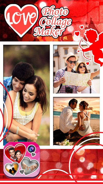 Love Photo Collage Maker: Cute Frames And Effects screenshot-3