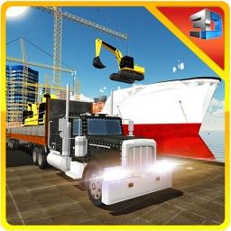 Heavy Machinery Transporter Ship – Transport crane