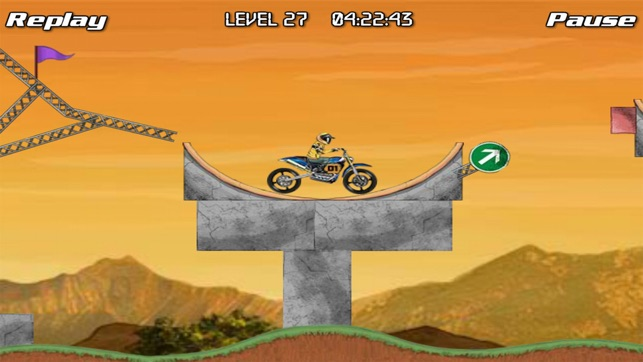 Bike Champion 2, game for IOS