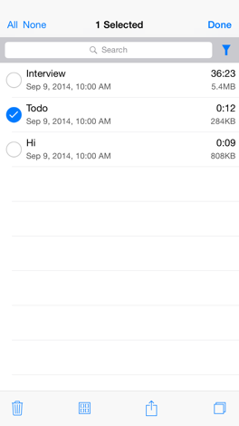 how to organize your iphone audio memos for iphone appszoom 7611