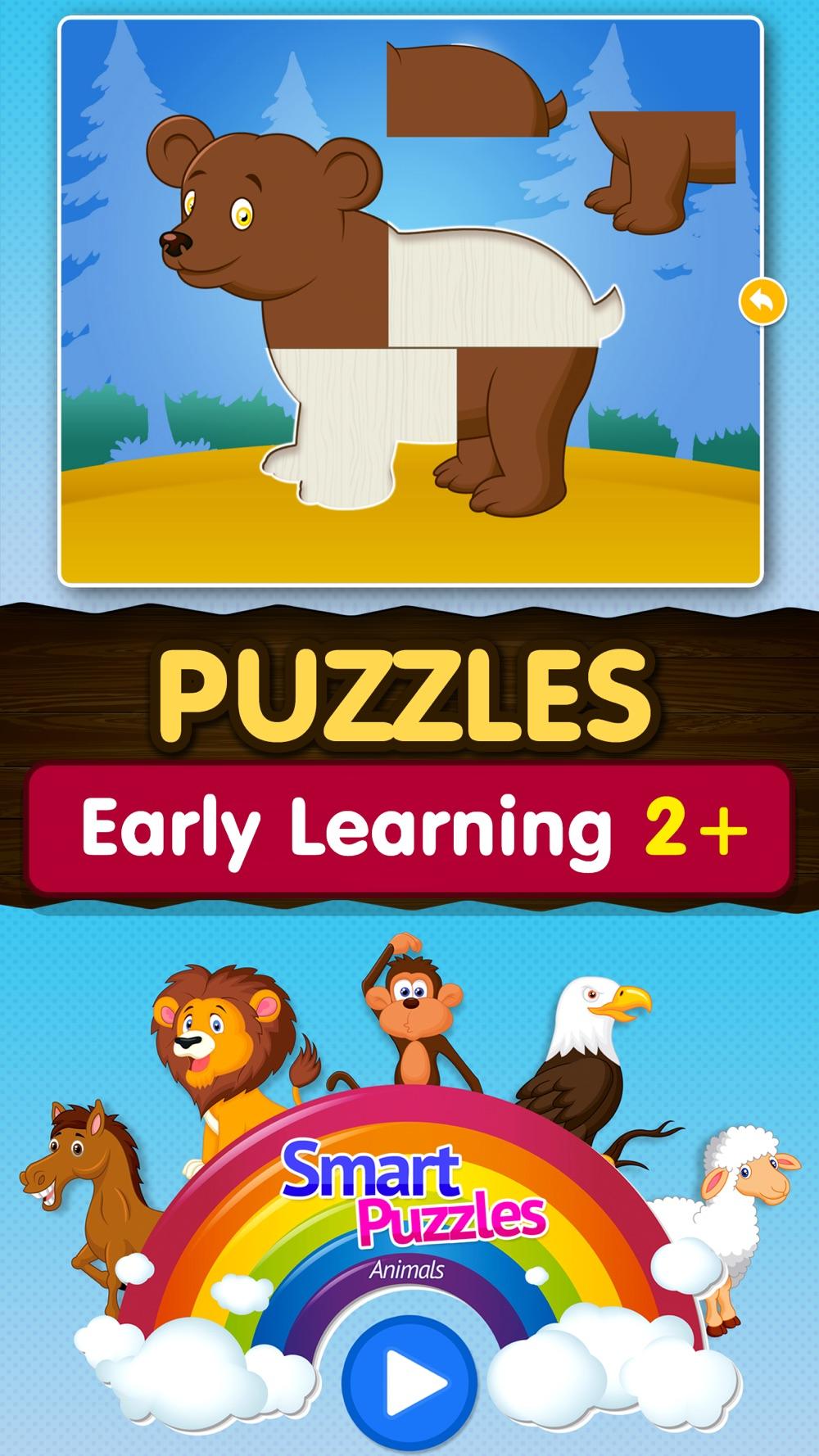 Kids Animal games-SmartPuzzles Cheat Codes