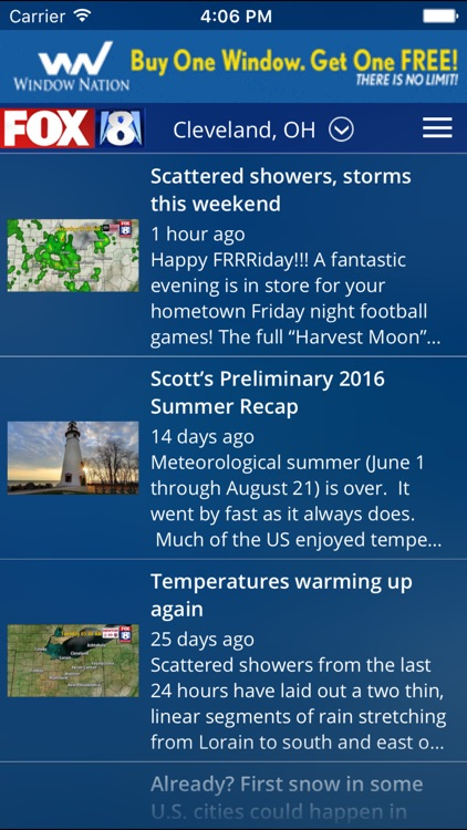 FOX8 Cleveland Weather screenshot-3