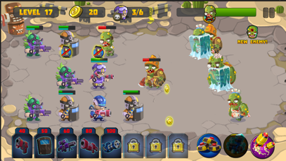 Zombie Invasion Defense screenshot two