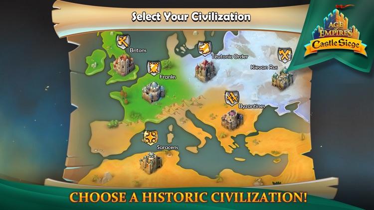 Age of Empires: Castle Siege screenshot-4