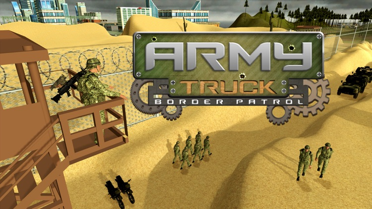 Army Truck Border Patrol – Drive military vehicle to arrest criminals