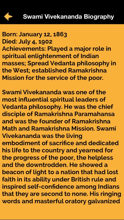 Swami Vivekananda Motivational Quotes & biography