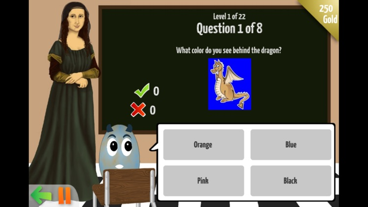 Dragon Egg — Free Early Learners Practice Game