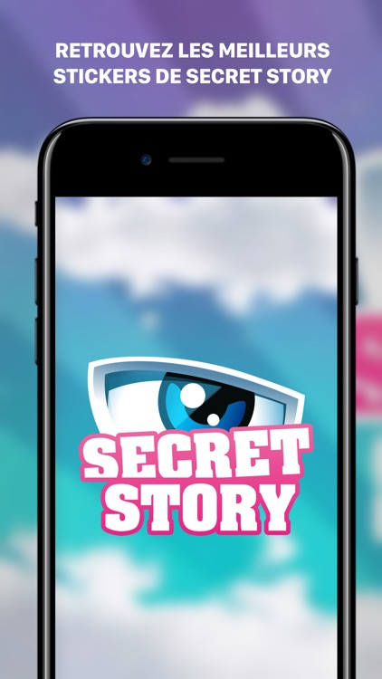 Secret Story Stickers