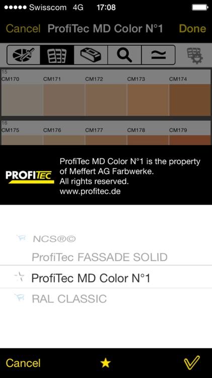 ProfiTec Colordesign screenshot-4