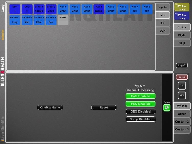 iLive OneMix screenshot-4