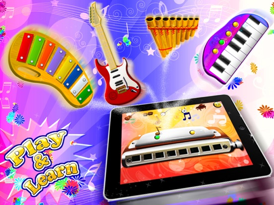 Music Sparkles – All in One Musical Instruments Collection HD screenshot