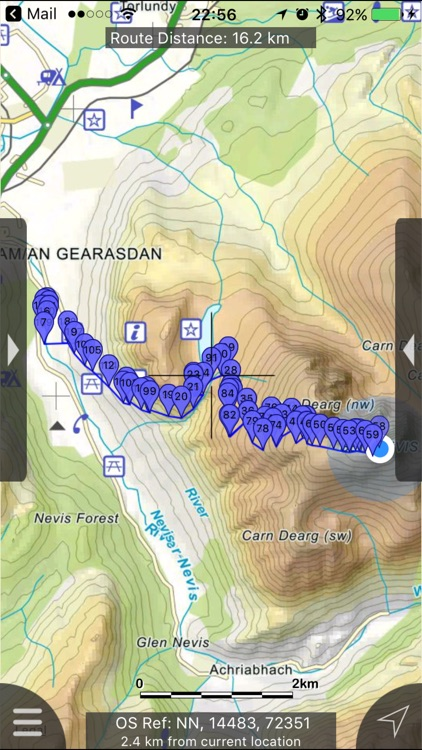 Ben Nevis & Glen Coe Maps Offline screenshot-0