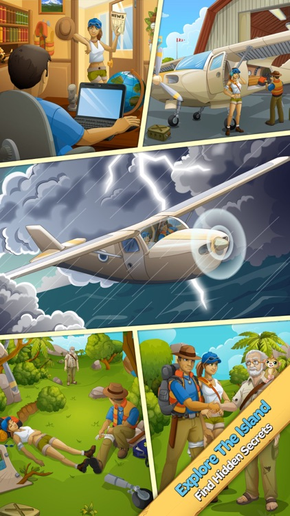 Crystal Island: Match 3 Puzzle screenshot-3