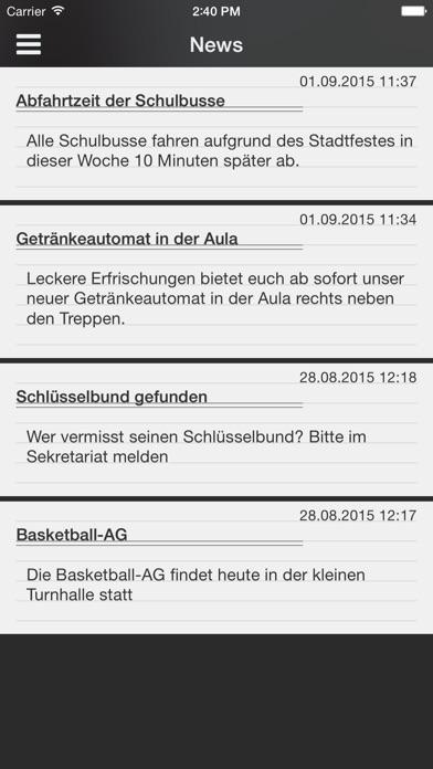 Screenshot for DSBmobile in Germany App Store
