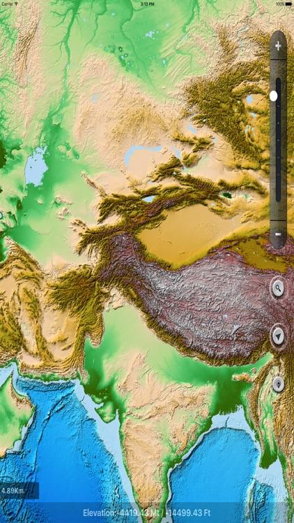 Terrain Maps of World screenshot-3