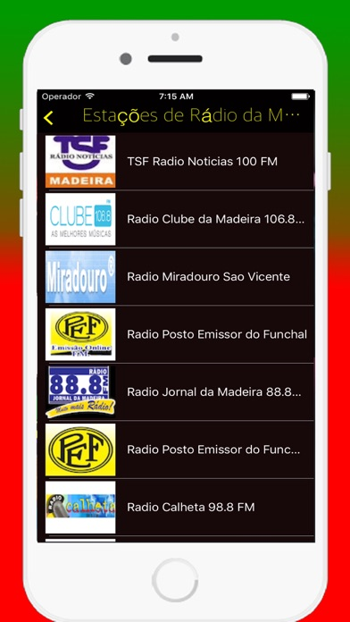 Radios Portuguese FM - Live Radio Stations Online screenshot three