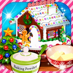 Christmas Cooking game:Gingerbread house