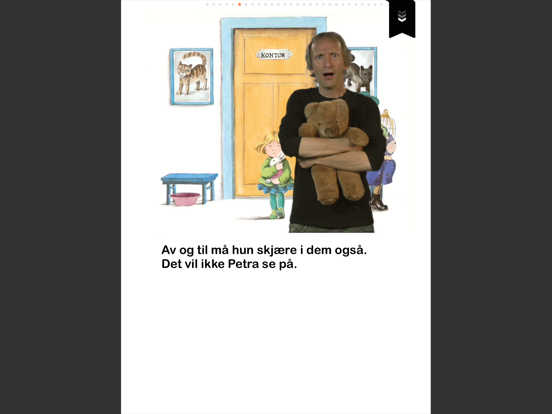 Petra vil bli dyrlege - på tegnspråk iPad