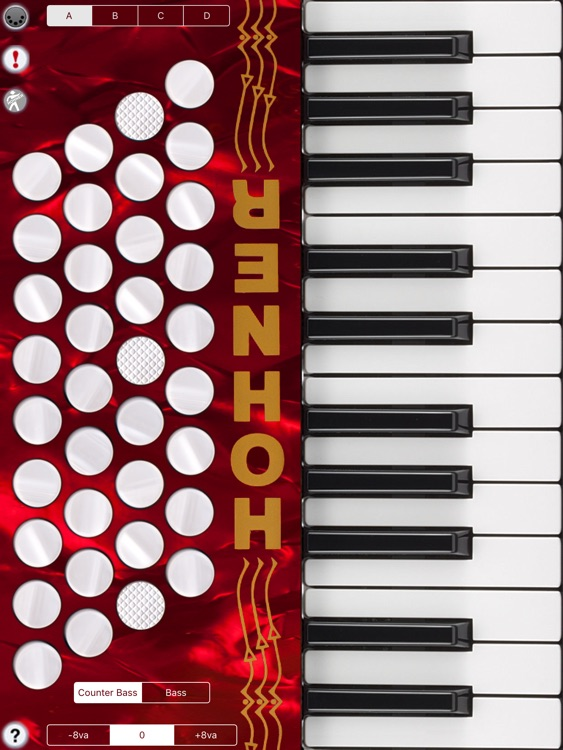 Hohner MIDI Piano Accordion MIDI Controller screenshot-3
