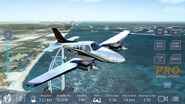 Pro Flight Simulator Dubai on the App Store