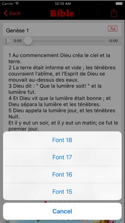 Bible Catholique Crampon (Audio) screenshot-4