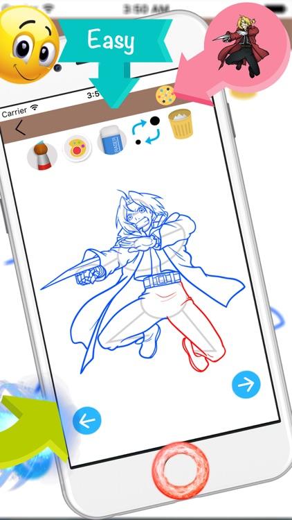 How to Draw Anime drawing screenshot-4