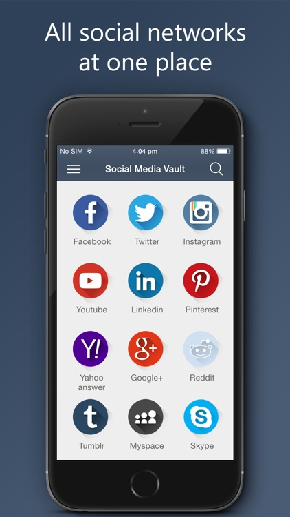 Social Media Vault Pro screenshot-1