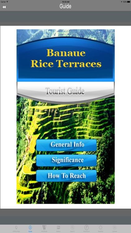 Banaue Rice Terraces Philippines Tourist Guide screenshot-3