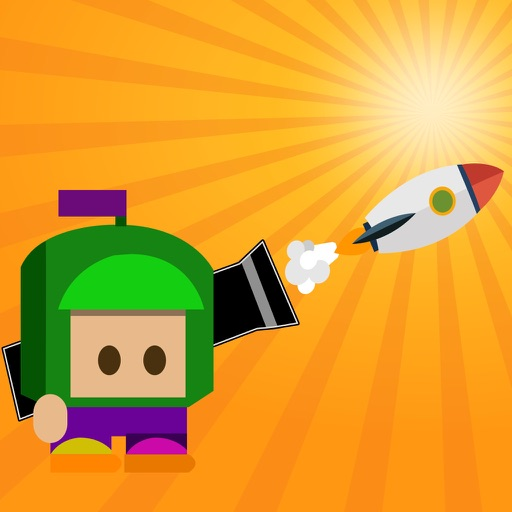 Deadly Rocket - Cannon Head Exploder Hard Game