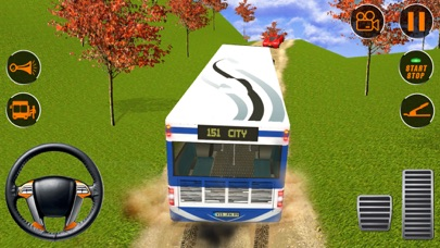 Tour bus hill driver transport App 截图