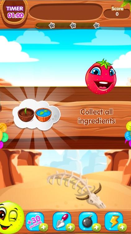 Charm Farm King - New Fruits Link Heroes screenshot-4