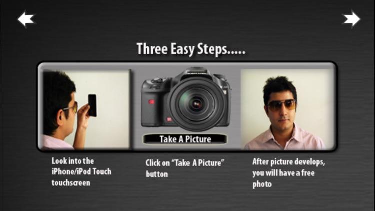 iTouchScreen Camera