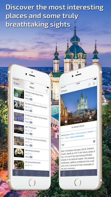 Kiev Travel Guide & offline city map screenshot-1