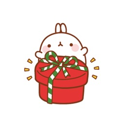 Molang The Rabbit for Christmas Stickers Pack