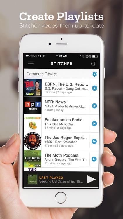 Stitcher Radio for Podcasts