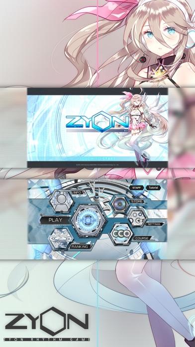 Zyon_RhythmGame Screenshot