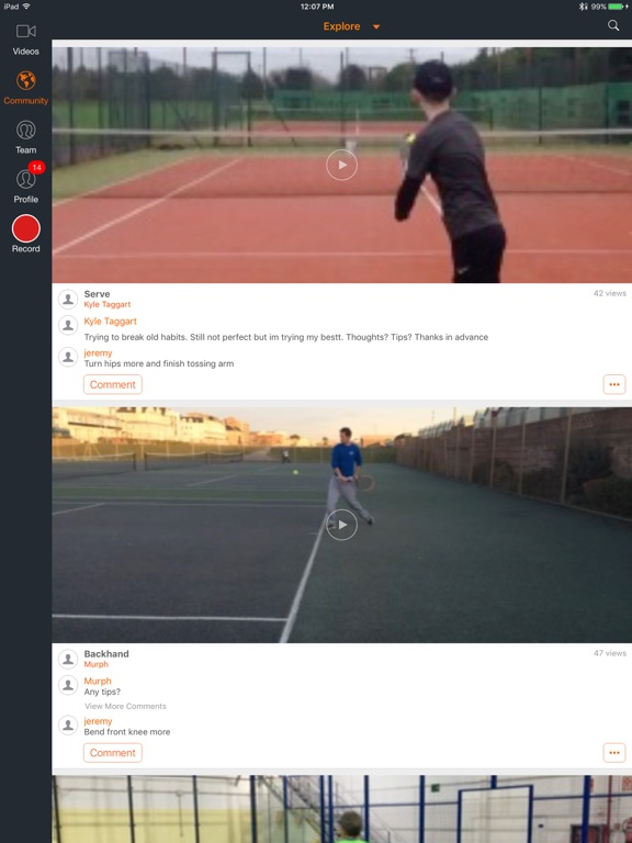 Hudl Technique: Slow Motion Video Analysis screenshot