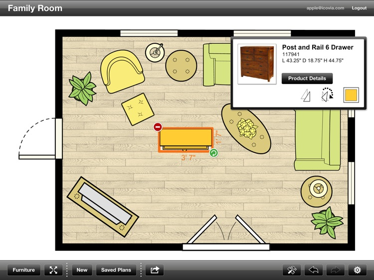 Urban Barn Room Planner screenshot-3