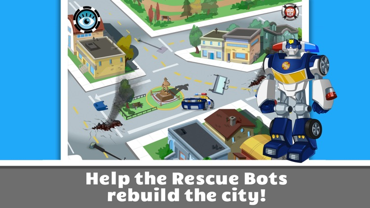 Transformers Rescue Bots: Save Griffin Rock screenshot-3