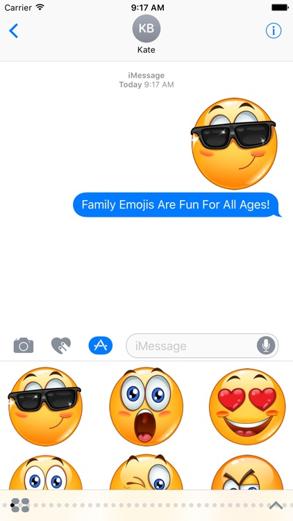Family Emoji Stickers by Emoji World