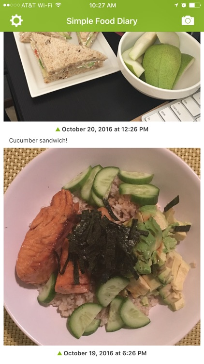 Simple Food Diary screenshot-0