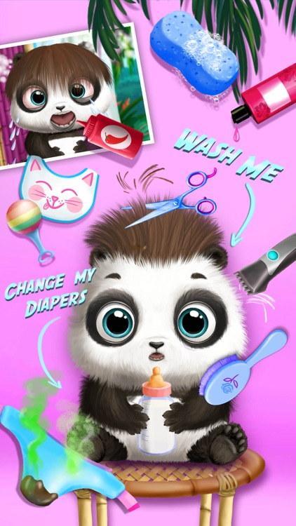 Baby Animal Hair Salon 2