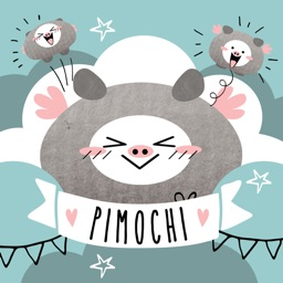 Pimochi The Flying Pig Stickers
