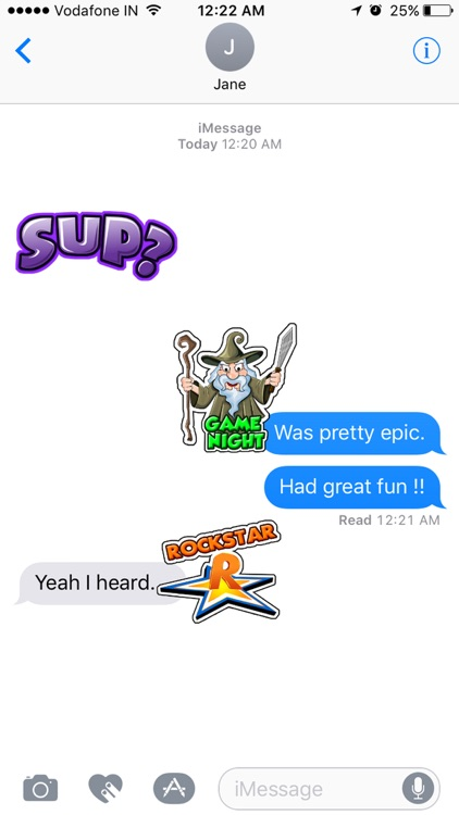 Toon Stickers screenshot-2