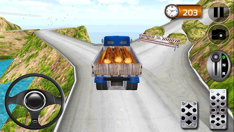 Hill Climb Truck Driving Simulator 3D screenshot-4