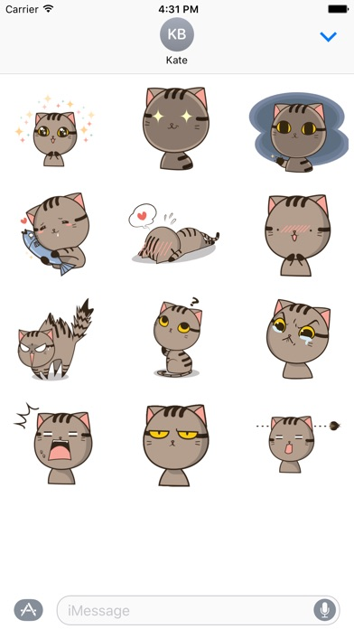 Drek The Cat - Animated StickersScreenshot von 3