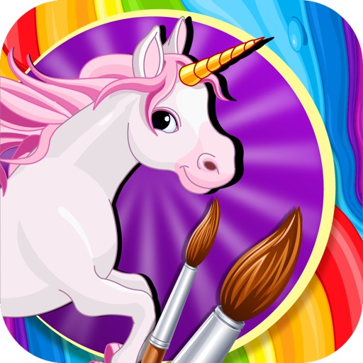 Unicorn Rush Coloring
