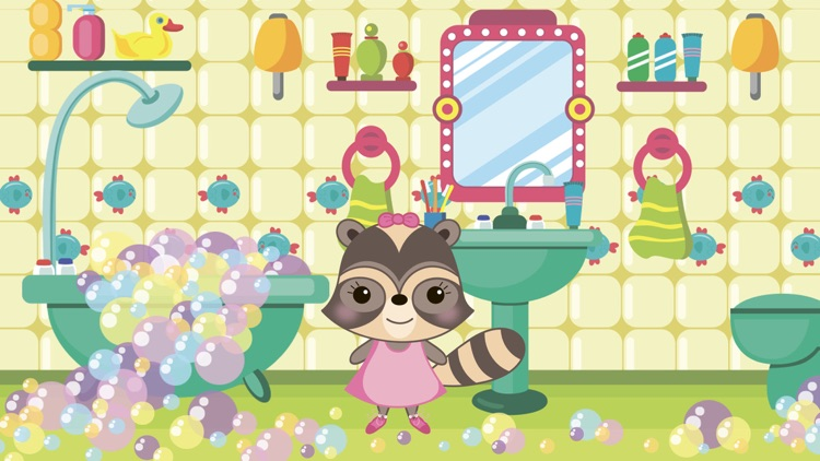 Baby Raccoon : Adventure On Playground screenshot-3
