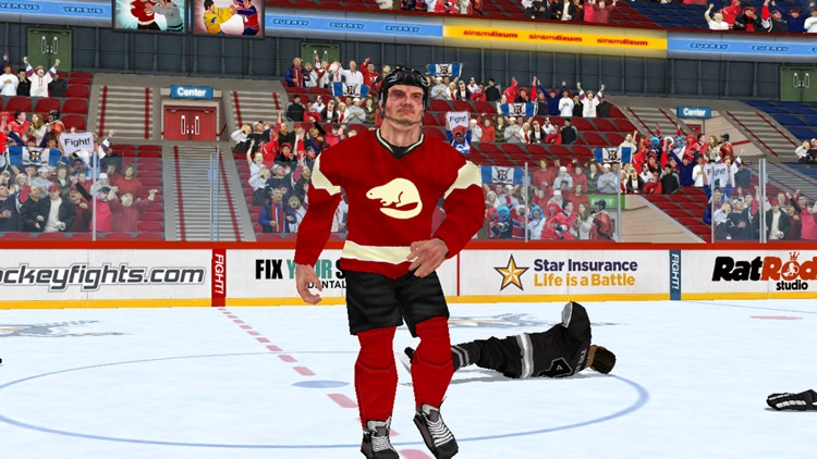 Hockey Fight Pro screenshot-4