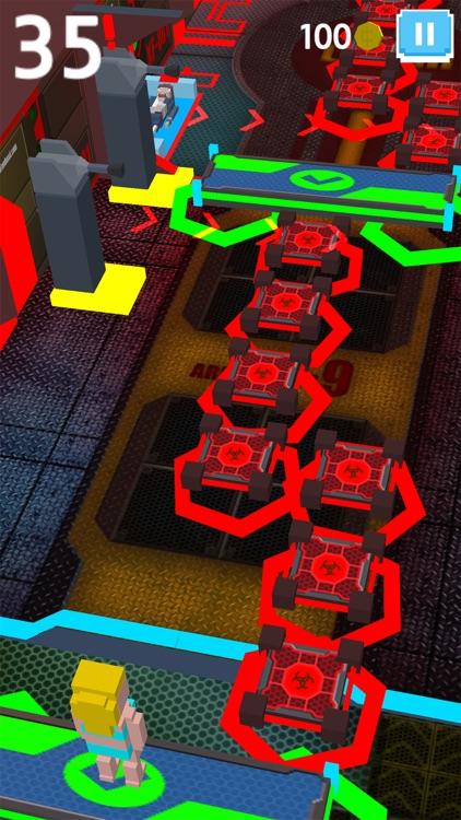 Virus Zombie Run - escape lab